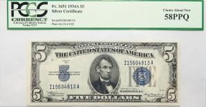 Silver Certificates $5