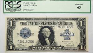 Silver Certificates $1