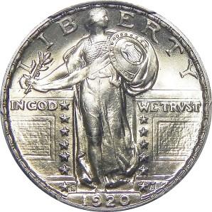 1916-1930 Standing Liberty Quarter