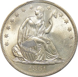 1839-1891 Liberty Seated Halves