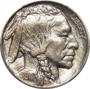 1913-1938 Buffalo Nickel