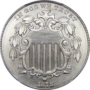 1866-1883 Shield Nickel