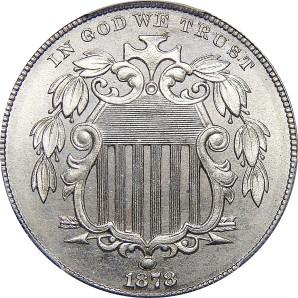 1866-1883 Shield Nickel