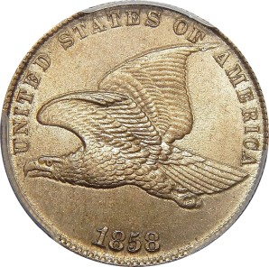 1856-1858 Flying Eagle