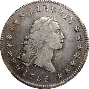 1794-1795 Flowing Hair Dollar