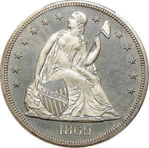 1840-1873 Liberty Seated Dollar