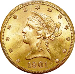 $10 Early Gold/Lib, 1795-1907