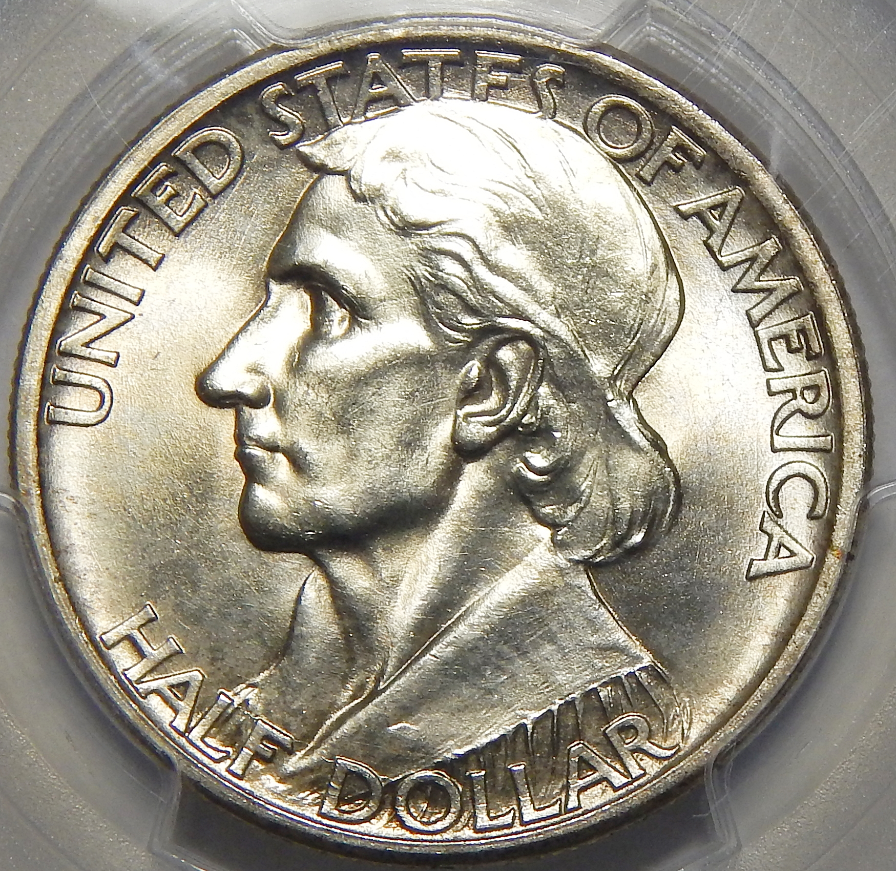 1934 PCGS MS65 BOONE HALF DOLLAR