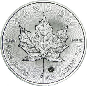 Canadian Silver Maple Leaf
